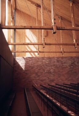 Otaniemi Chapel in Otaniemi, Finland by architects Kaija Siren, Heikki Siren