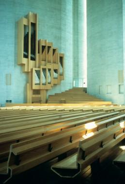 Kaleva Church in Tampere, Finland by architect Reima Pietila; Raili Pietila