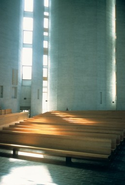 Kaleva Church in Tampere, Finland by architect Reima Pietila; Raili Pietila
