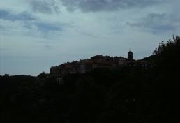 perched village in Cote d'Azur, France
