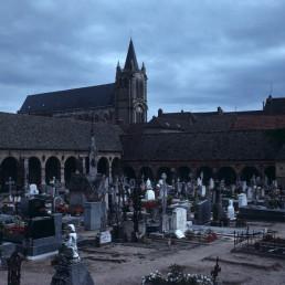 Montfort-l'Amaury cemetary in Montfort-l'Amaury, France
