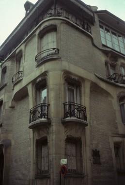 Hôtel Guimard in Paris, France by architect Hector Guimard