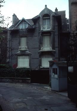 Hôtel Deron-Levent in Paris, France by architect Hector Guimard