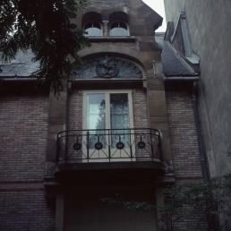 Hôtel Delfau in Paris, France by architect Hector Guimard