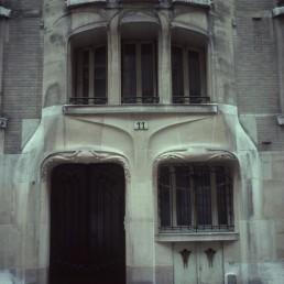 Trémois building in Paris, France by architect Hector Guimard