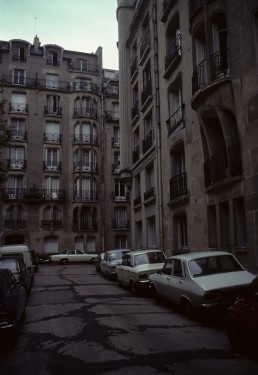 Rue La Fontaine apartment complex in Paris, France by architect Hector Guimard
