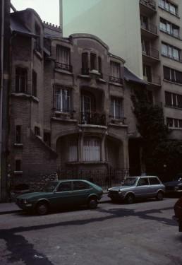 Hôtel Mezzara in Paris, France by architect Hector Guimard