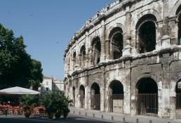 Arena of Nîmes in Nimes, France