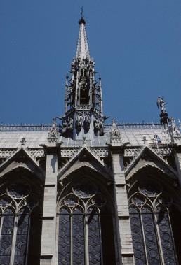 St. Chapelle in Paris, France
