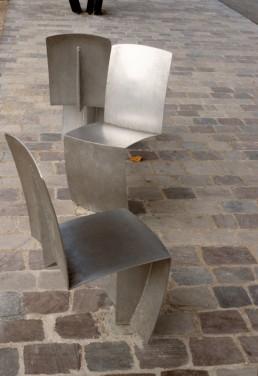 Parc de la Villette in Paris, France by architect Bernard Tschumi
