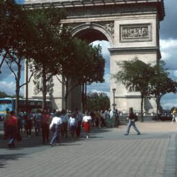 Arc de Triomphe in Paris, France by architect Jean Chalgrin
