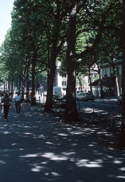 Paris urban landscape in Paris, France