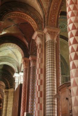 Notre Dame la Grande in Poitiers, France