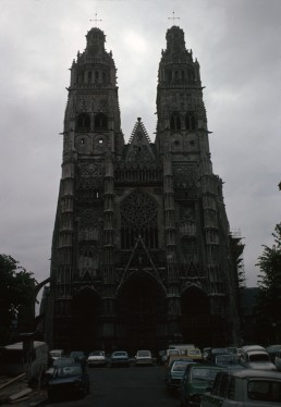 Saint Gatien's Cathedral in Tours, France