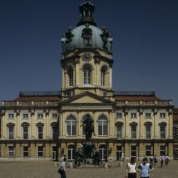Charlottenburg Palace in Berlin, Germany by architect Johann Arnold Nering