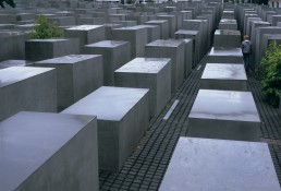 Memorial to the Murdered Jews of Europe in Berlin, Germany by architect Peter Eisenman