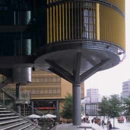 Potsdamer Platz in Berlin, Germany by architects Richard Rogers, Richard Rogers Partnership