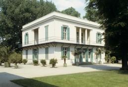Neuer Pavilion in Berlin, Germany by architect Karl Friedrich Schinkel