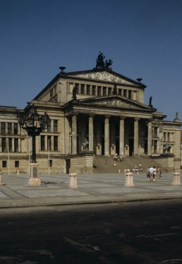 Schauspielhaus in Berlin, Germany by architect Karl Friedrich Schinkel