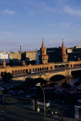 Oberbaum Bridge Restoration in Berlin, Germany by architect Santiago Calatrava