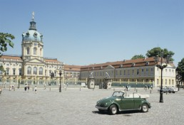 Charlottenburg Palace in Berlin, Germany by architect Johann Arnold Nering