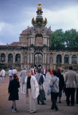 Dresdner Zwinger in Dresden, Germany by architect Matthaus Daniel Poppelmann