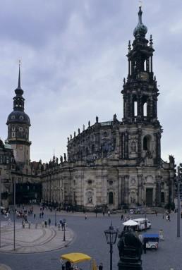 Altstadt in Dresden, Germany