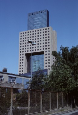 Messe Torhaus in Frankfurt, Germany by architect Oswald Mathias Ungers