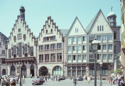 Frankfurt City Hall (Romer) in Frankfurt, Germany