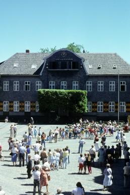 Schiefer Hotel in Goslar, Germany