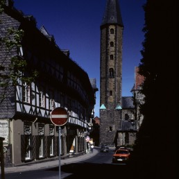 Market Church St. Cosmas and Damian in Goslar, Germany