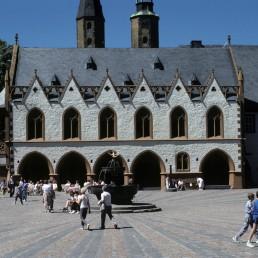 Goslar Town Hall in Goslar, Germany