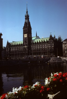Hamburg Town Hall in Hamburg, Germany