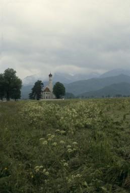 Pilgrimage Church of St. Coloman in Schwangau, Germany by architect Johann Schmuzer