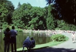 Bergpark Wilhelmshohe in Kassel, Germany by architects Giovanni Francesc Guerniero, Heinrich Christoph Jussow