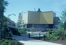 Berlin Philharmonic in Berlin, Germany by architect Hans Scharoun