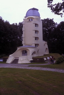 Einstein Tower in Potsdam, Germany by architect Erich Mendelsohn