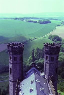 Schaumburg Castle in Rinteln, Germany