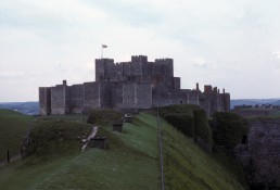 Dover Castle in Kent, UK