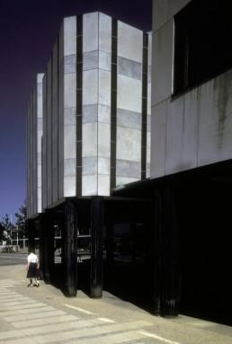 Wolfsburg Cultural Center in Wolfsburg, Germany by architect Alvar Aalto