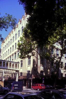 Royal Postal Savings Bank in Budapest, Hungary