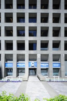MacMillan Bloedel Building in Vancouver, Canada by architect Arthur Erickson