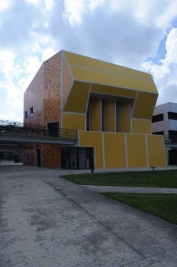 Paul L. Cejas School of Architecture Building in Miami, Florida by architect Bernard Tschumi