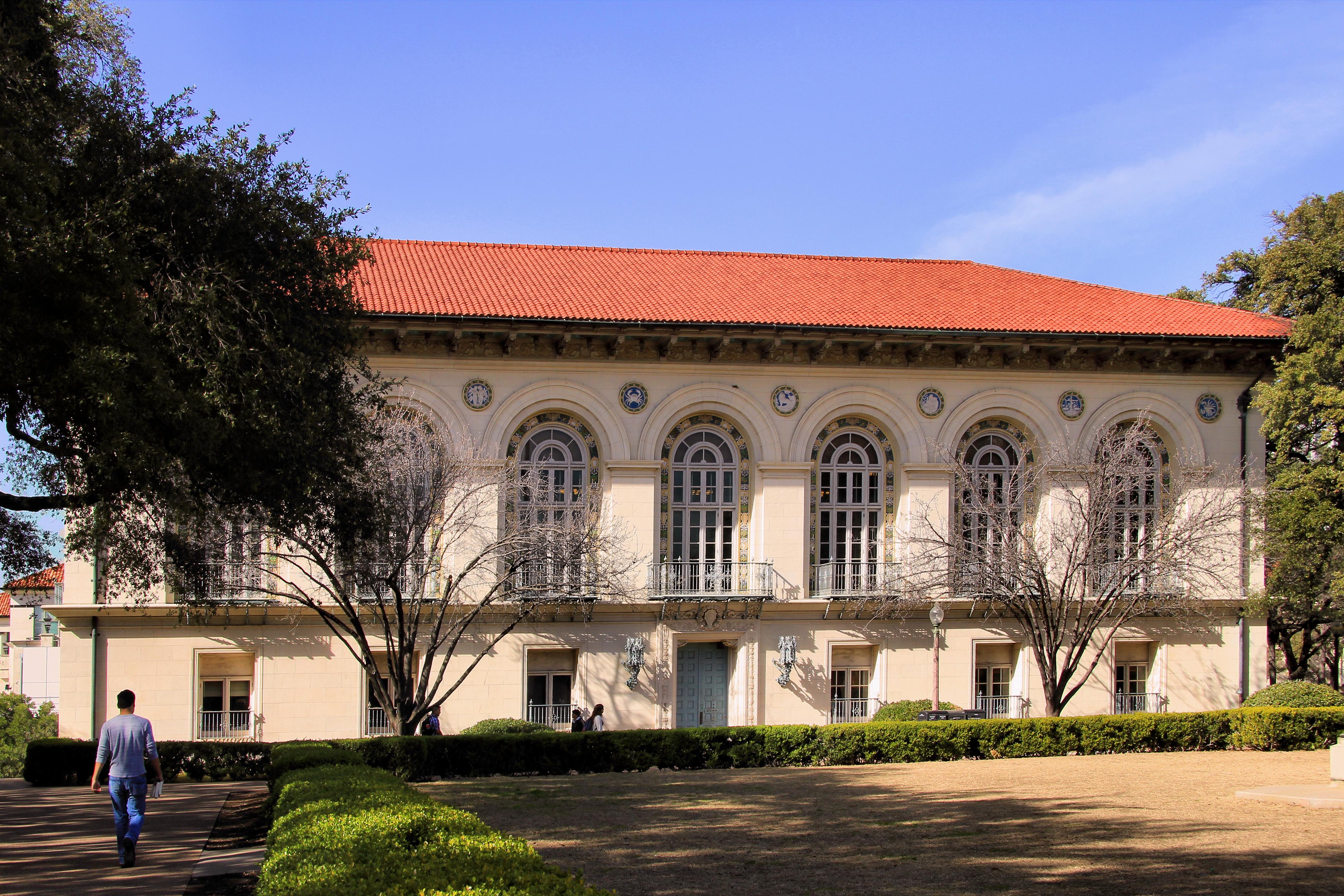 Battle Hall, UT Austin,  1910
