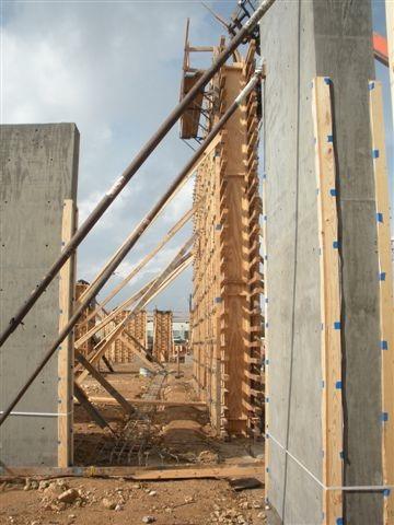 Construction of Wiss, Janney, Elstner Building, Austin.