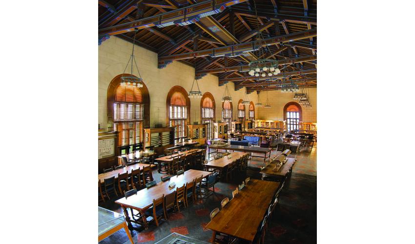 Battle Hall interior.  Photo (C) Nathan Sheppard