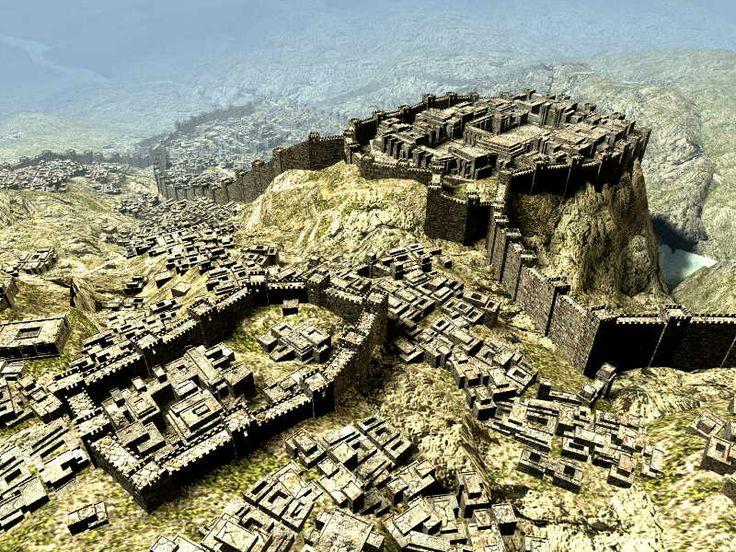 Ancient City of Hattusa, Turkey