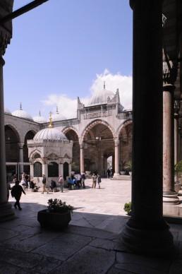 Yeni Cami (New Mosque) in Istanbul, Turkey by architects Davud Aga, Mustafa Aga, Dalgic Ahmed Cavus