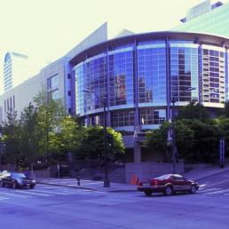 Benaroya Hall Symphony in Seattle, Washington by architect LMN Architects