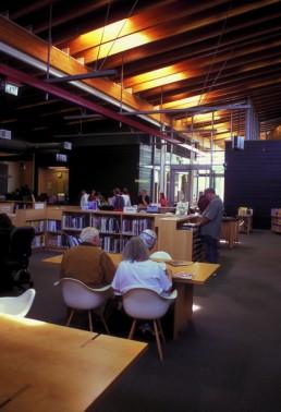 Seattle Public Library Ballard Branch in Seattle, Washington by architects Bohlin Cywinski Jackson, Robert Miller